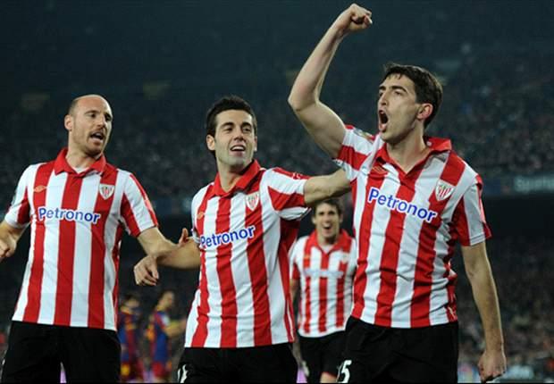 Liga BBVA: El Athletic se asoma a Europa tras vencer al Levante (3-2)