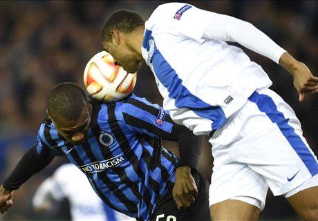Brugge & Dnipro battle to deadlock