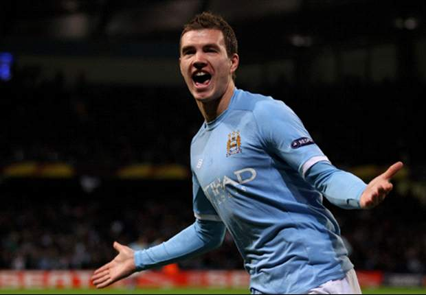Edin Dzeko wants to help Manchester City restore local pride with an FA Cup victory over Stoke City