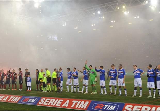 Sampdoria gegen Genoa: Das erste Derby nach der Beerdigung