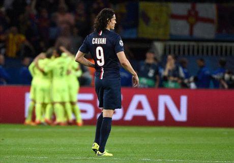 Blanc: Cavani was bad vs Barca