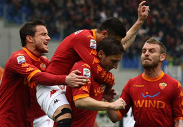 Roma 2-2 Parma: Amauri double inspires visitors to draw from two down