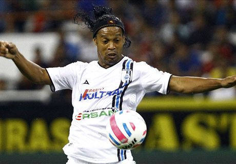 Ronaldinho: I'm not retiring
