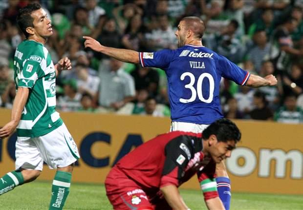 El Un, Dos, Tres del... Santos vs. Cruz Azul
