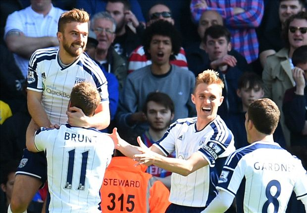 Crystal Palace 0-2 West Brom: Pulis haunts former club