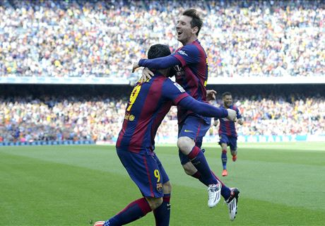 Messi Drags Barca To Victory