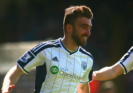 Live: Crystal Palace 0-2 West Brom