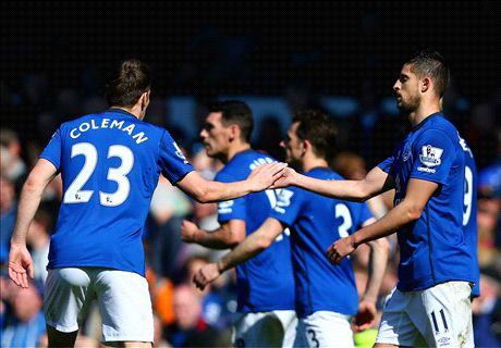 Live: Everton 1-0 Burnley