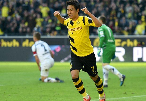 Borussia Dortmund 3-0 Paderborn: Kagawa caps impressive win after turbulent week