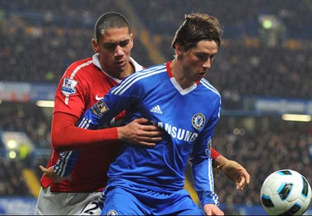 Chelsea defender David Luiz backs under pressure Fernando Torres to end goal drought