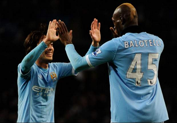 Manchester City 3-0 Aston Villa: Yaya Toure, Mario Balotelli & David Silva On Target As Hosts Cruise To FA Cup Quarter-Finals