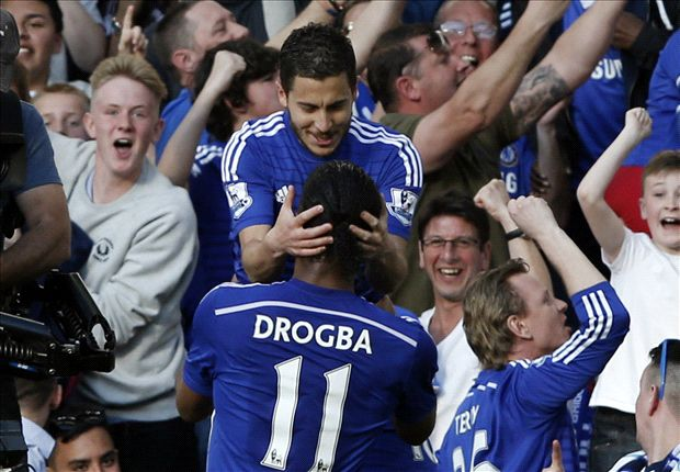 Chelsea 1-0 Manchester United: Hazard moves Mourinho's men closer to the Premier League title