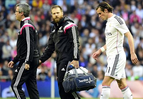Injured Bale doubtful for Atletico clash