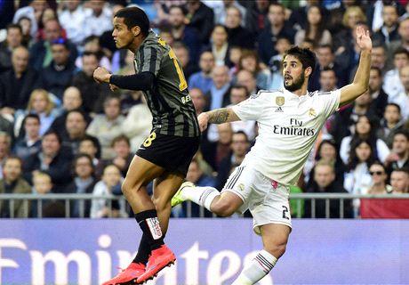 LIVE: Real Madrid 1-0 Malaga