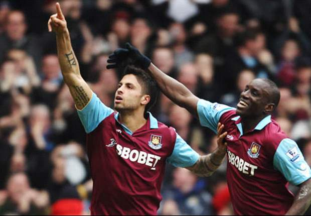 West Ham 3-0 Stoke City: Ba, Da Costa & Hitzlsperger goals help impressive Hammers move out of bottom three