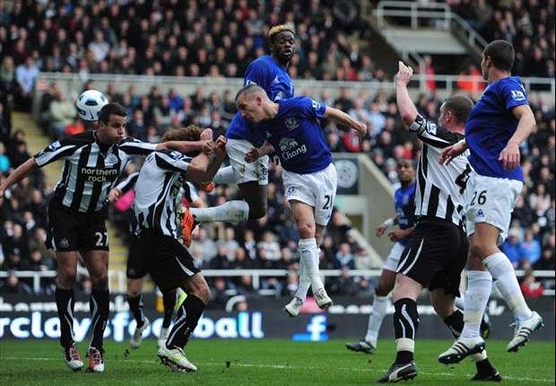 Newcastle United 1-2 Everton: Jagielka & Osman On Target As Visitors Come From Behind To Earn Vital Three Points