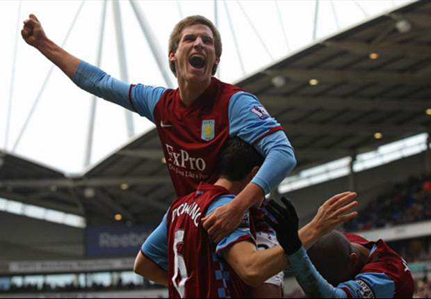 Aston Villa winger Marc Albrighton vows to regain his place in manager Alex McLeish's starting XI