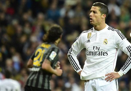 Ronaldo misses penalty in Madrid win