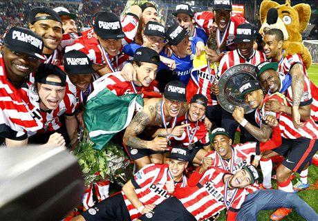 PSV grijpt 22ste landstitel