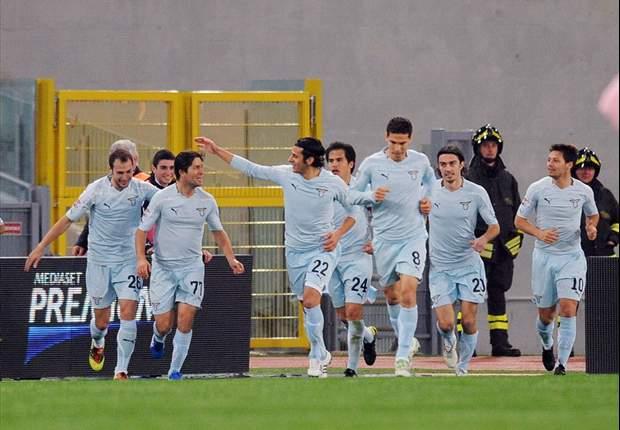Lazio 2-0 Palermo: Sculli Sends Biancocelesti Back To Fourth Place