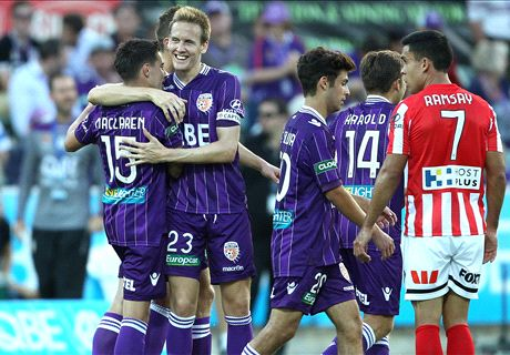 Maclaren hat-trick lifts Glory gloom