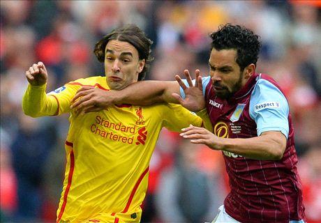 LIVE: Aston Villa 2-1 Liverpool
