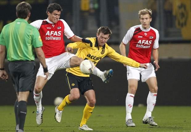 AZ trakteert Roda op eerste thuisnederlaag: 1-2