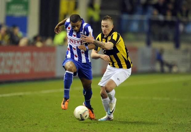 Heerenveen in slotfase naast Vitesse