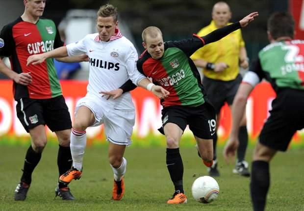 PSV ziet concurrentie inlopen na remise bij NEC