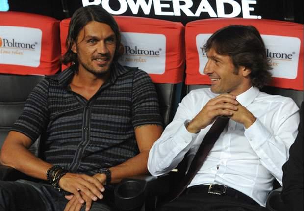 Paris Saint-Germain's sporting director Leonardo claims Paolo Maldini could join the club as a coach