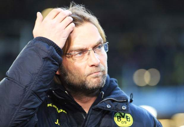 Klopp disappointed with Borussia Dortmund's start as they lose to Hamburg