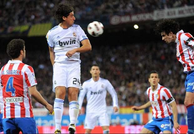 Liga BBVA: Derbi madrileño, enemistad que regala tres puntos a los blancos (1-2)