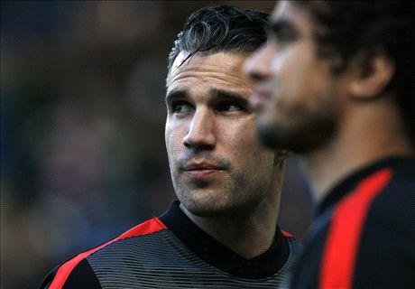 Van Persie steps up Man Utd return