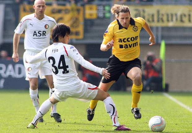 Roda JC stuit opmars Feyenoord