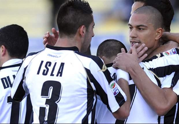 Udinese-Catania 2-0: Lampo di Inler e rigore di Totò, le zebrette volano al terzo posto! Ennesimo ko esterno per gli etnei