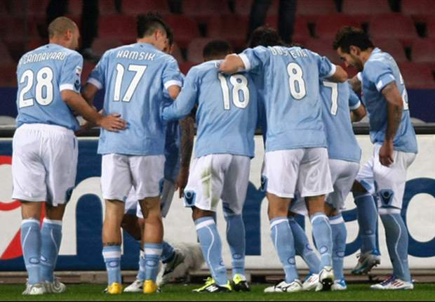 TEAM NEWS: Marek Hamsik, Ezequiel Lavezzi & Edinson Cavani start for Napoli against Lazio