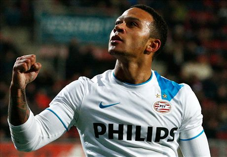 Transfer Talk: Depay to cost £18m