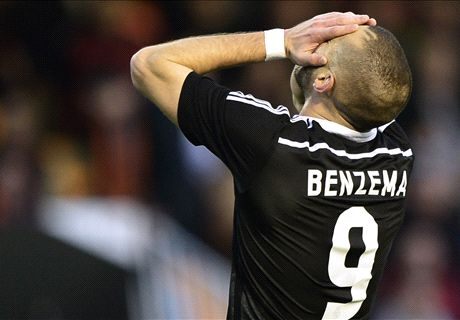 Benzema out as Madrid injury list grows