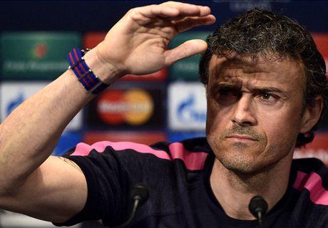 Barça, Luis Enrique :