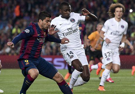 LIVE: Barcelona 2-0 PSG