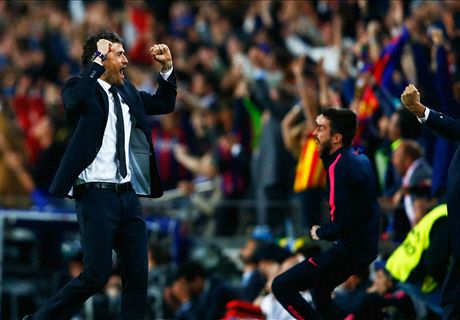Barca as perfect as possible - Luis Enrique