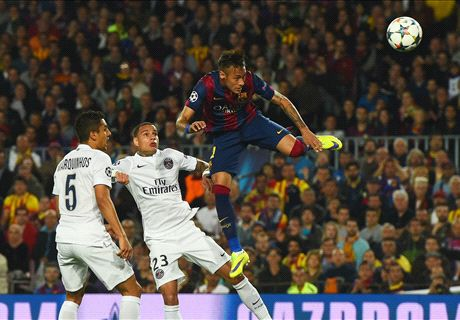 Neymar double kills off PSG