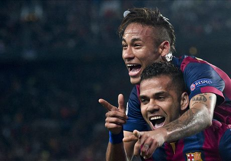 Barca's Front Three Set Sights On Glory