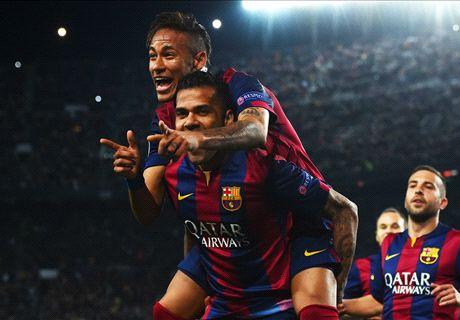 Neymar: Barca must keep this up
