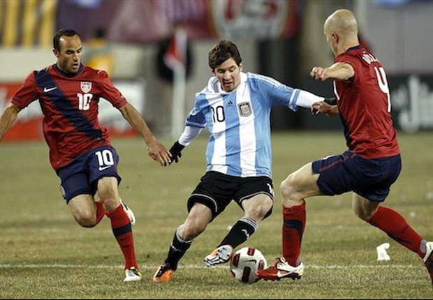 Argentina's Esteban Cambiasso Plays Down USA Draw