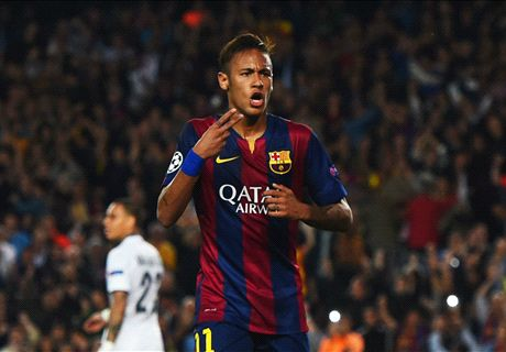 Neymar takes centre stage for Barca