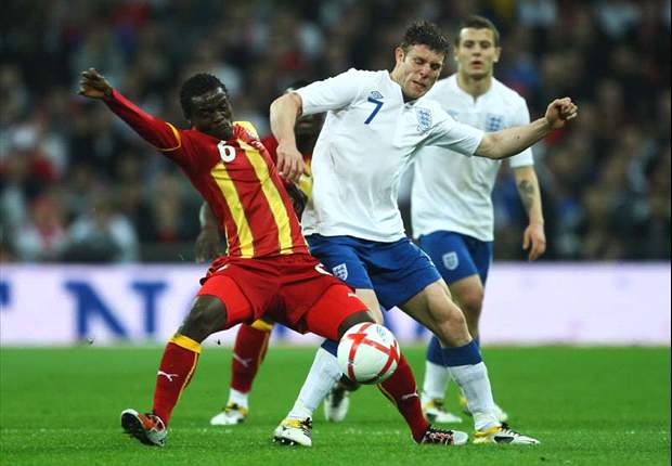 Ghana 1-1 England and Ghana's top five international friendly matches in recent times