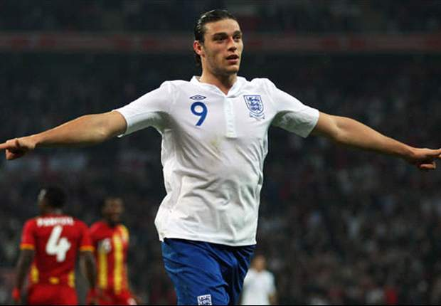 TEAM NEWS: Carroll and Welbeck partnered in attack for England