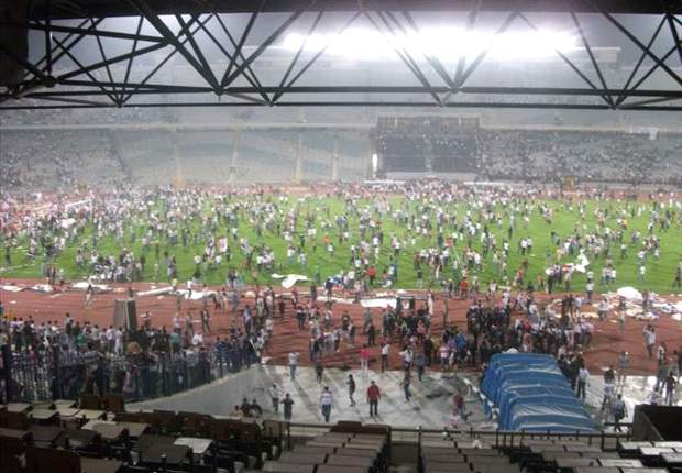 Zamalek - Club Africain clash marred by pitch invasion and fan violence