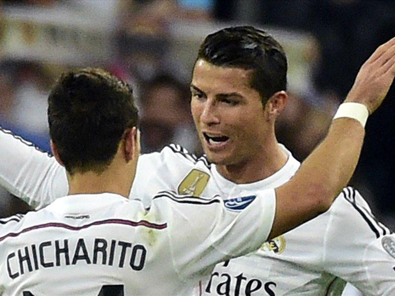 HD SP Javier Hernandez; Cristiano Ronaldo Real Madrid
